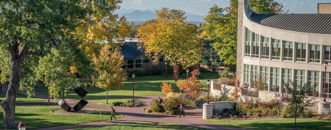 scenic shot of campus