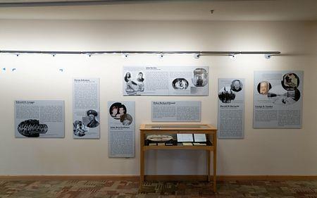 holocaust wall display
