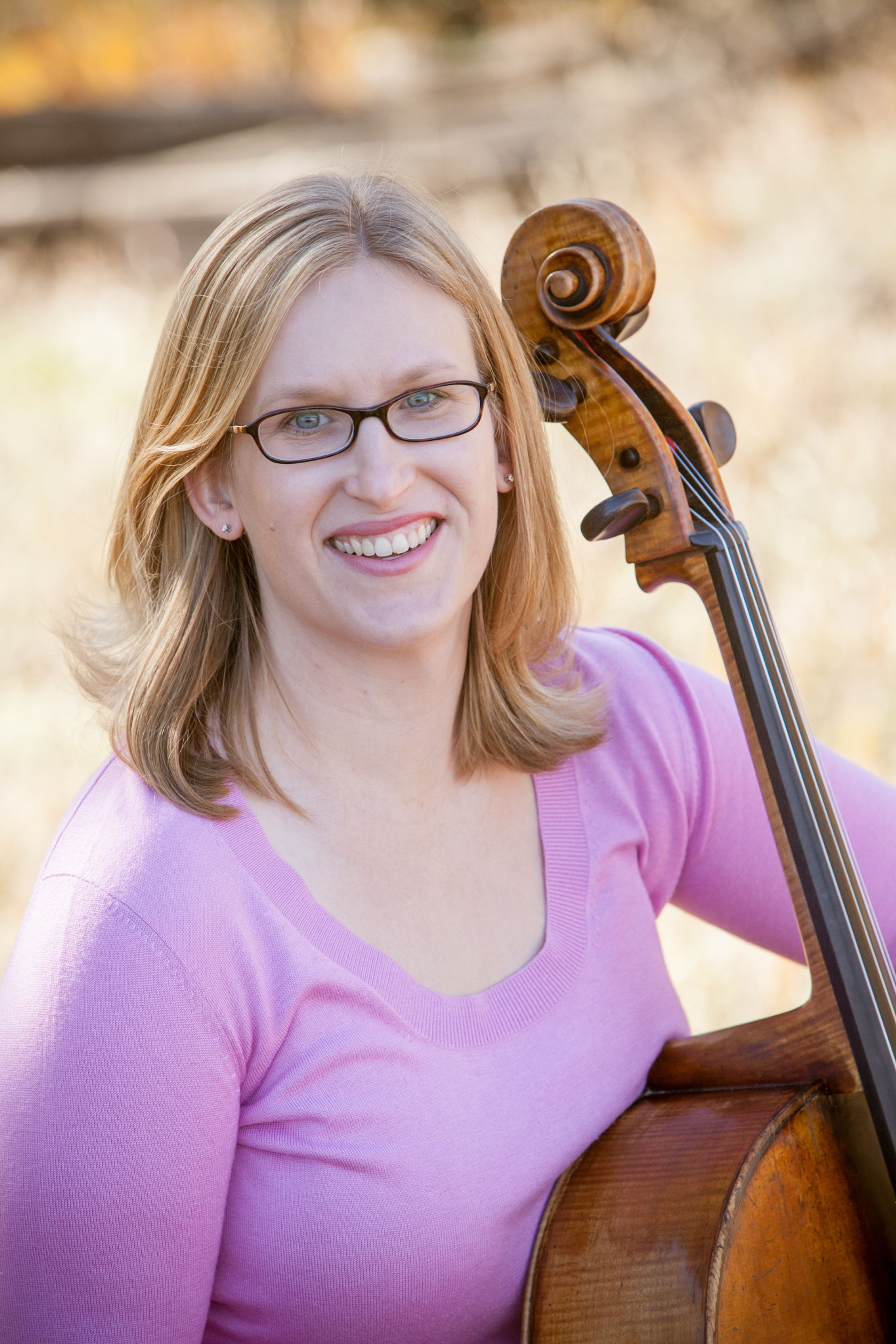 Heather Hadley with cello