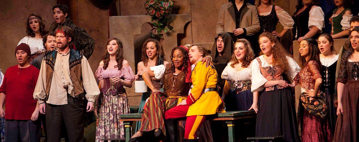opera singers performing