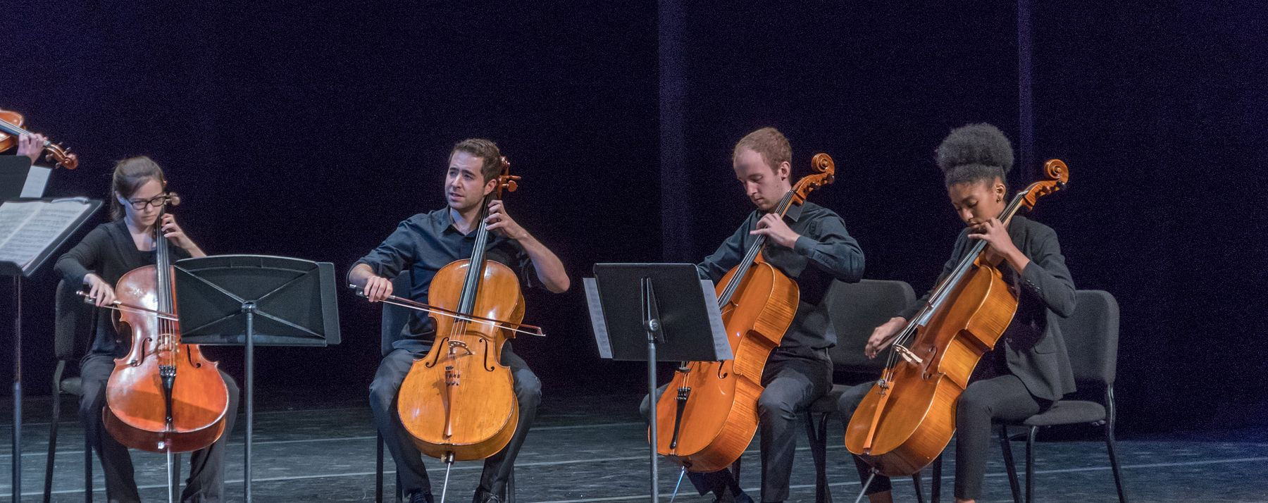 4 cellists