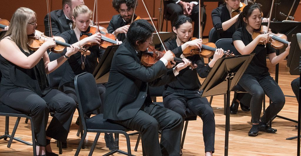 LSO violins
