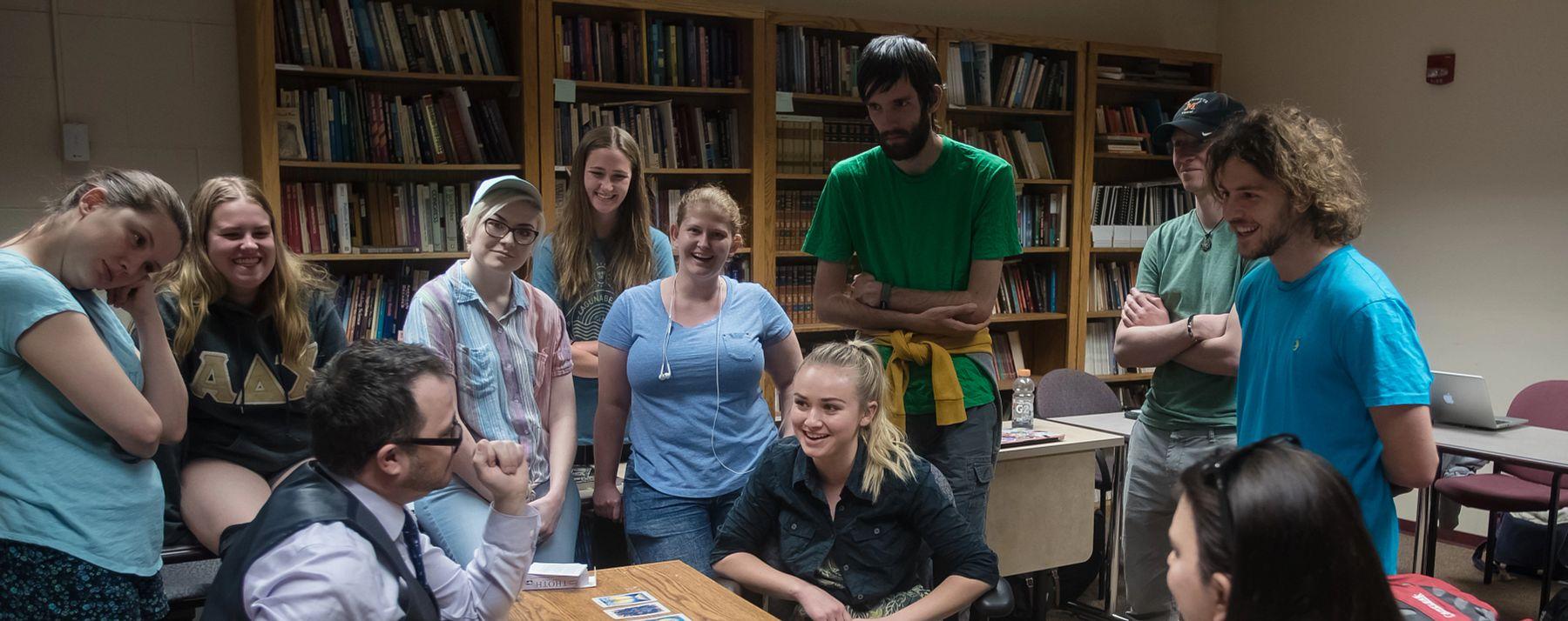 Religious Studies Students in Classroom