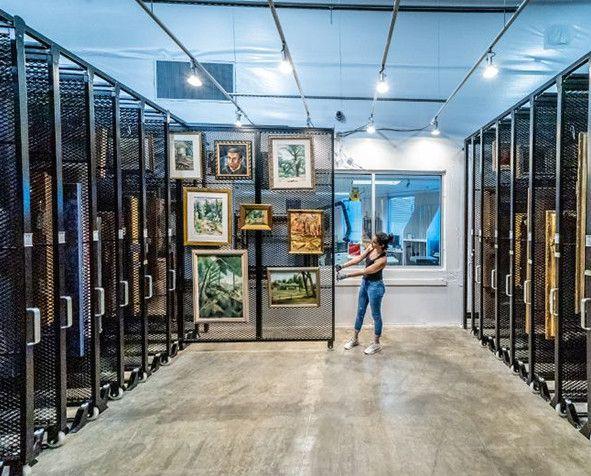 Hampden art collection