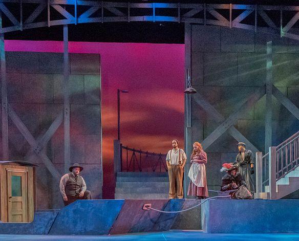 Lamont opera singers perform in Il Tabbaro
