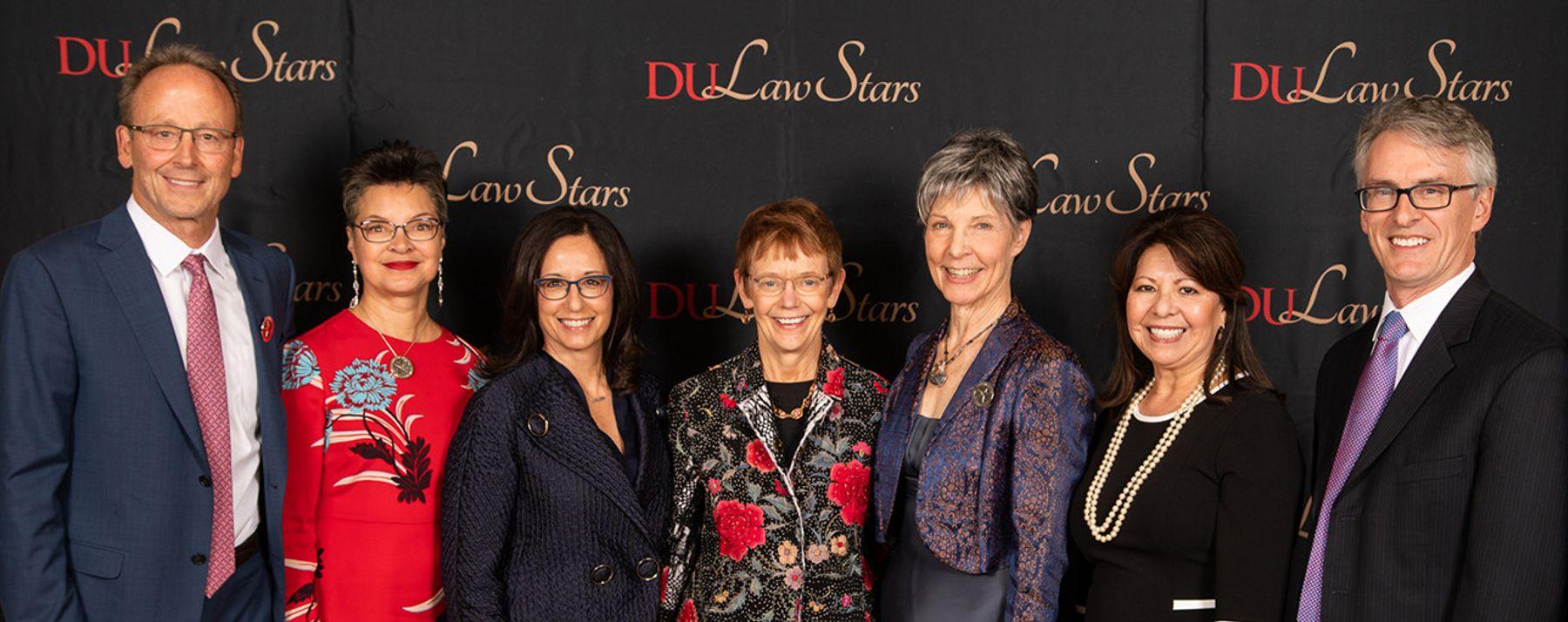 2018 DU Law Stars Honorees