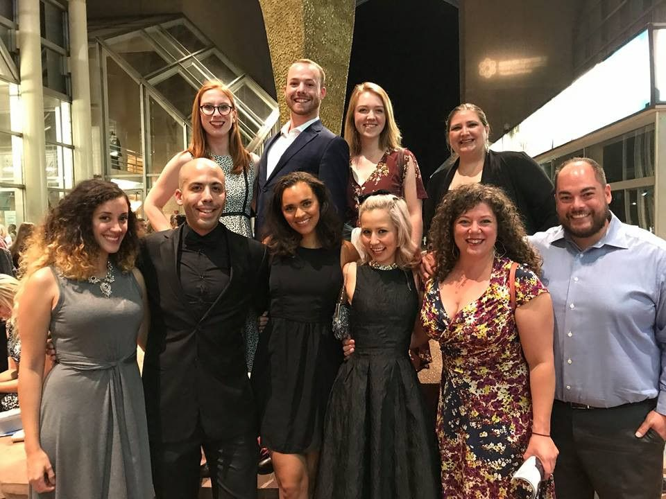 Lamont Alumni attend a concert at Boettcher Concert Hall.