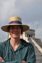 Annabeth Headrick at Chichen Itza