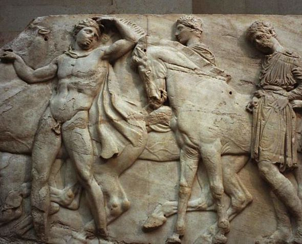 Parthenon sculptures currently held by the British Museum. Retrieved from independent.co.uk