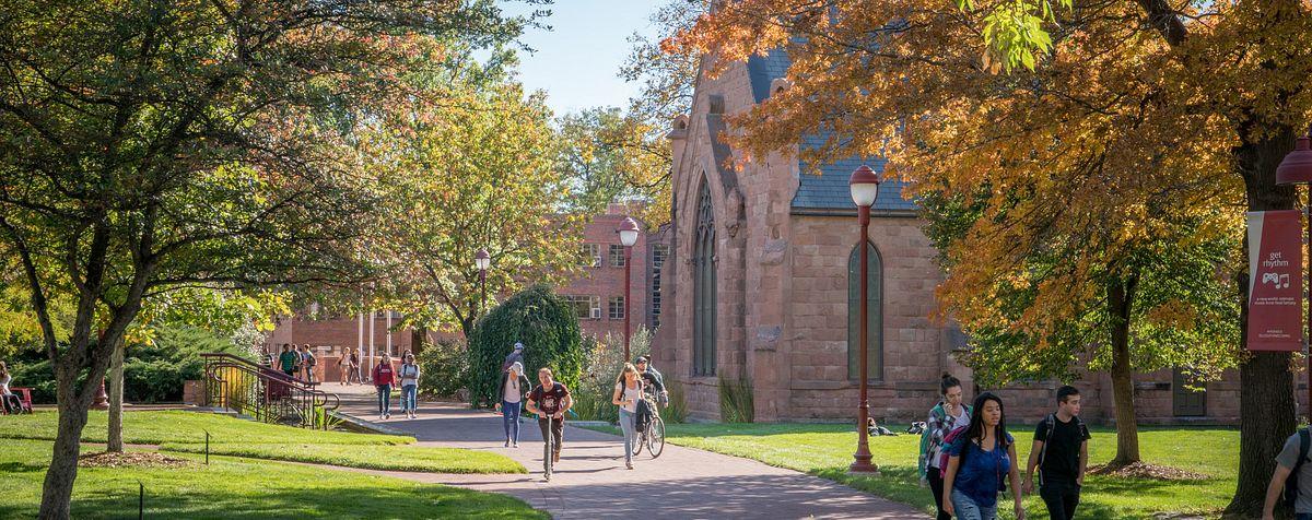 scenic of campus