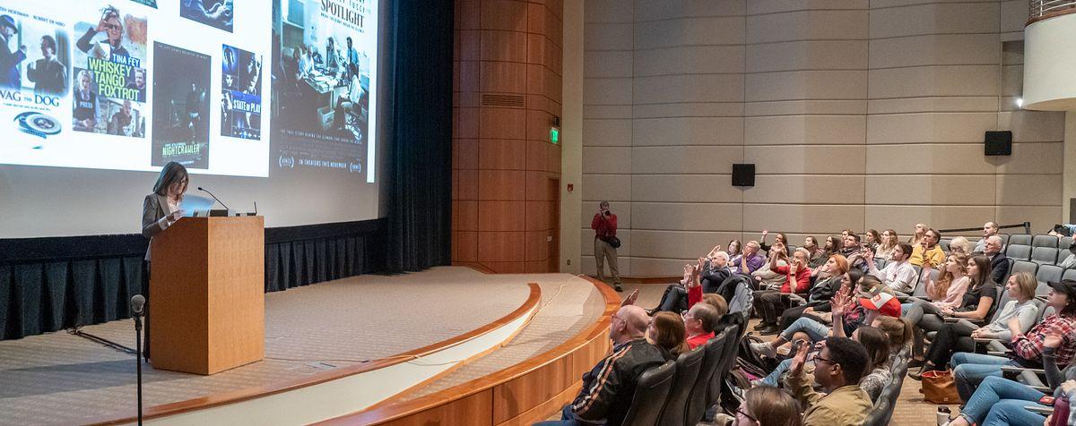 faculty lecture at du mfjs program