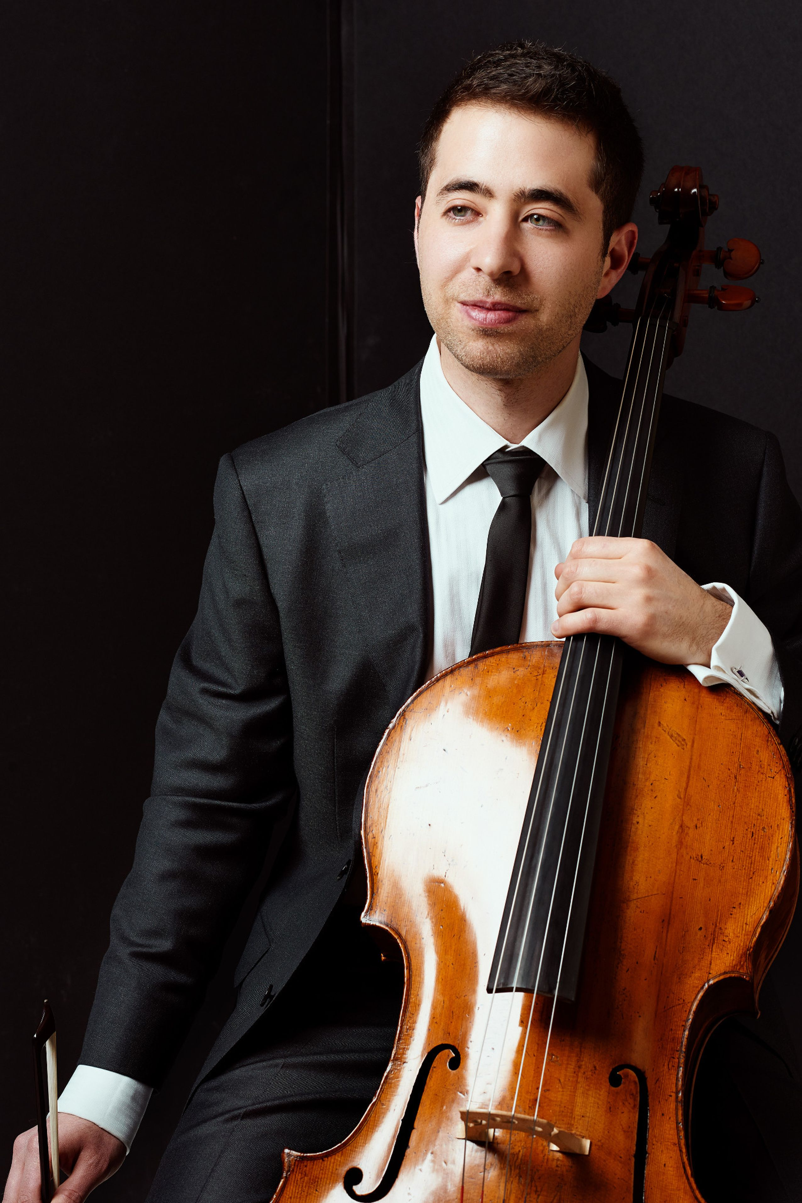 Matthew Zalkind with cello
