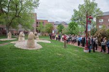 statue ceremony