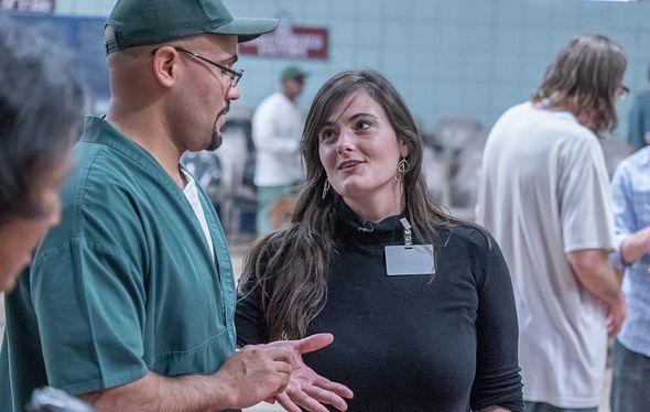 Ashley Hamilton Prison Arts Initiative photo