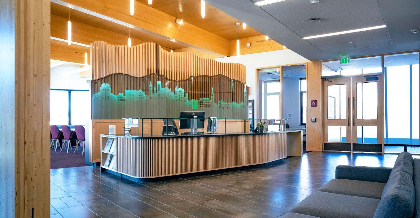 Burwell Center front desk
