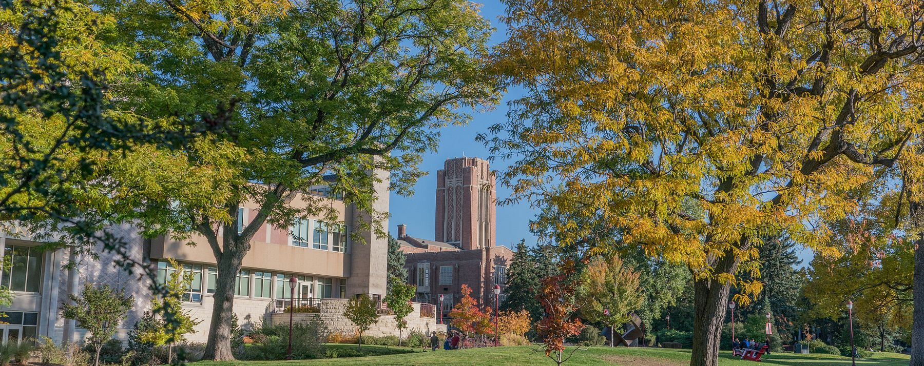 Scenic picture of campus