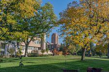 DU Campus in fall