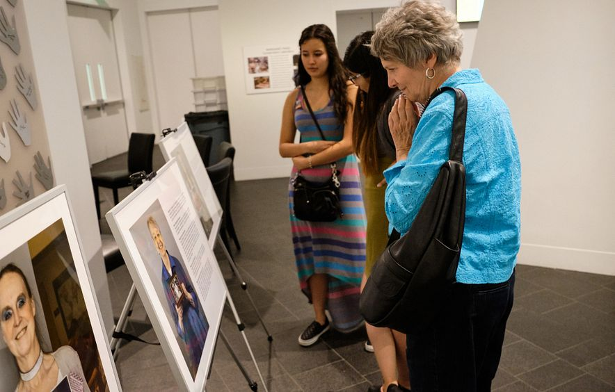 The Photography and Memory Project paired CAHSS photography students with older adults in the community.