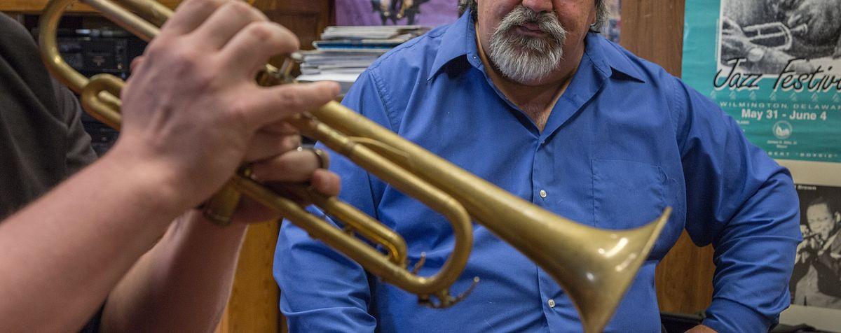 Alan Hood teaching