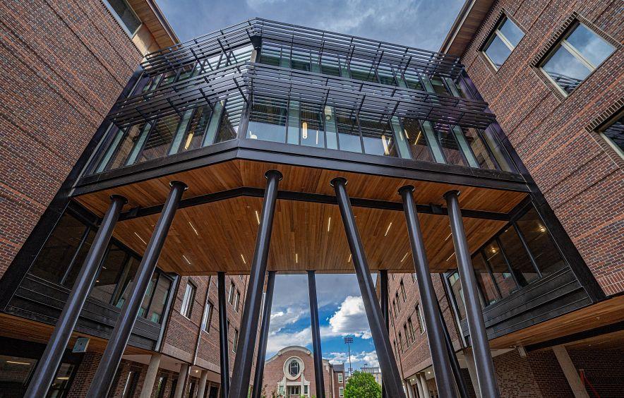 new campus building