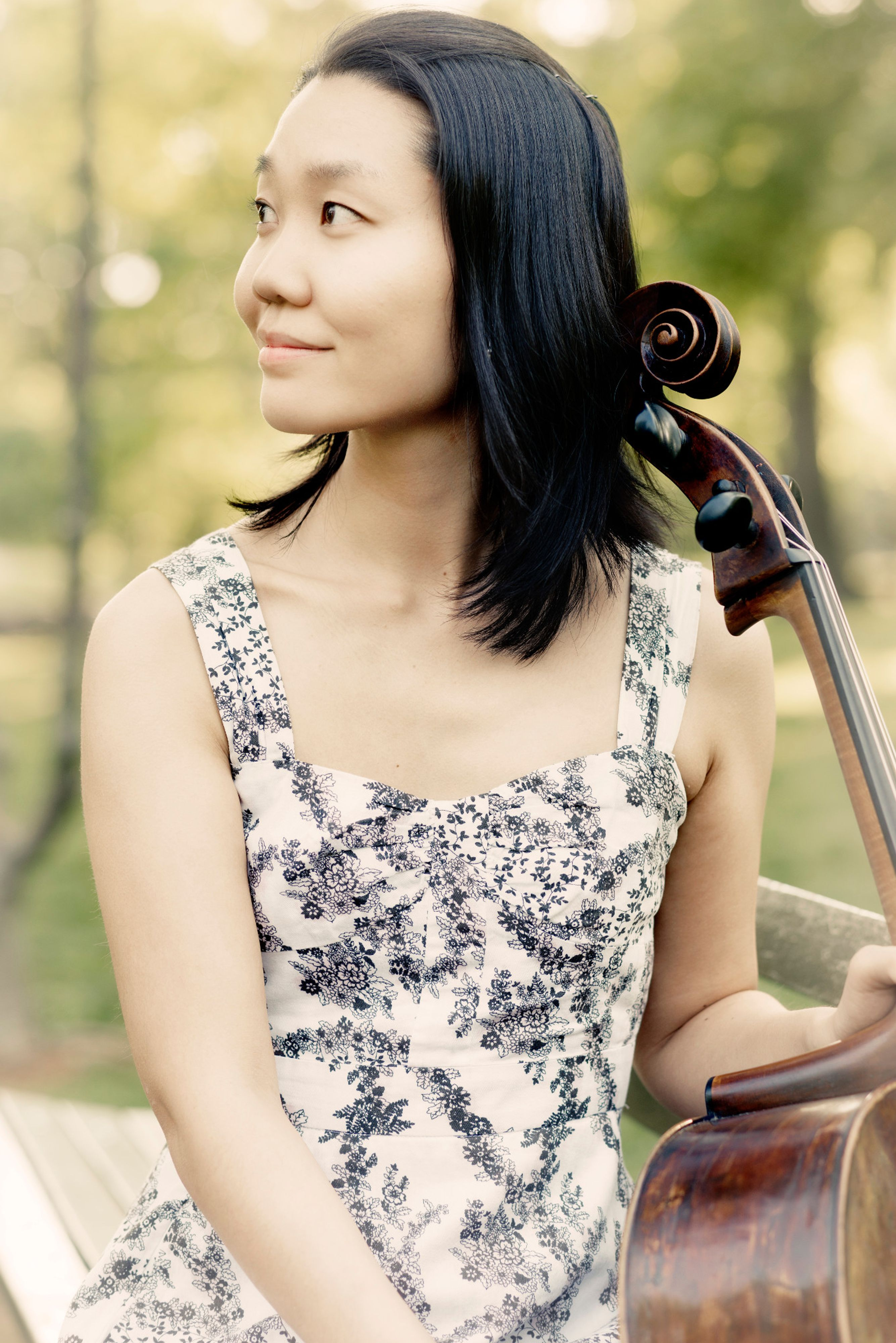 Alice Yoo with cello