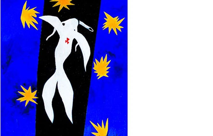 Cheyenne Indian (ode to Henri Matisse)