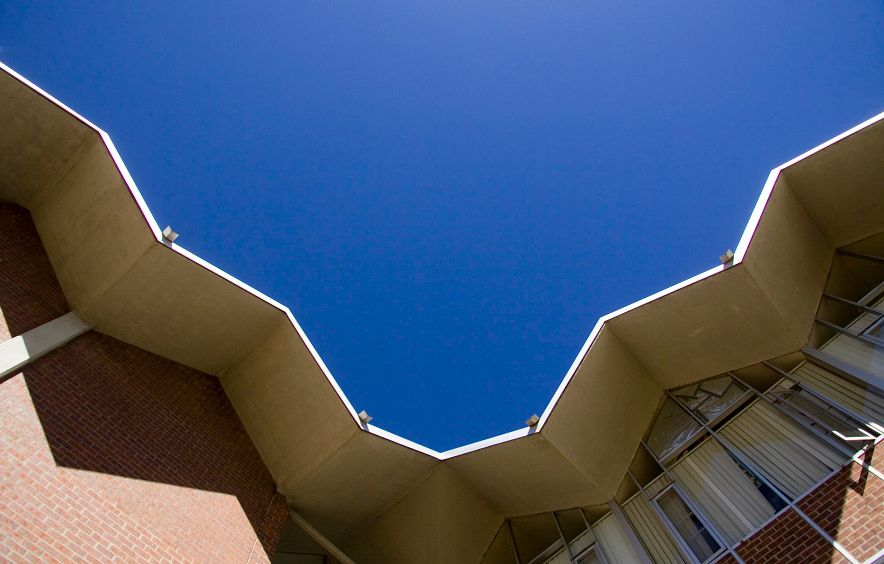 abstract image of roofline