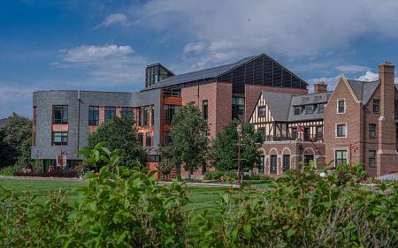 new campus buildings at DU