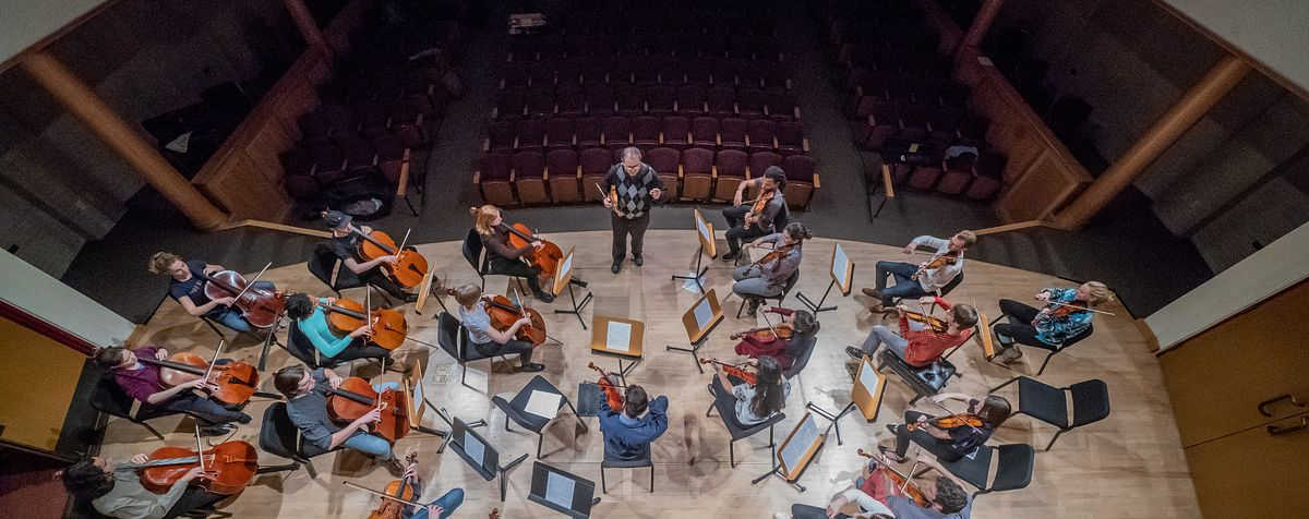 orchestra in preparation