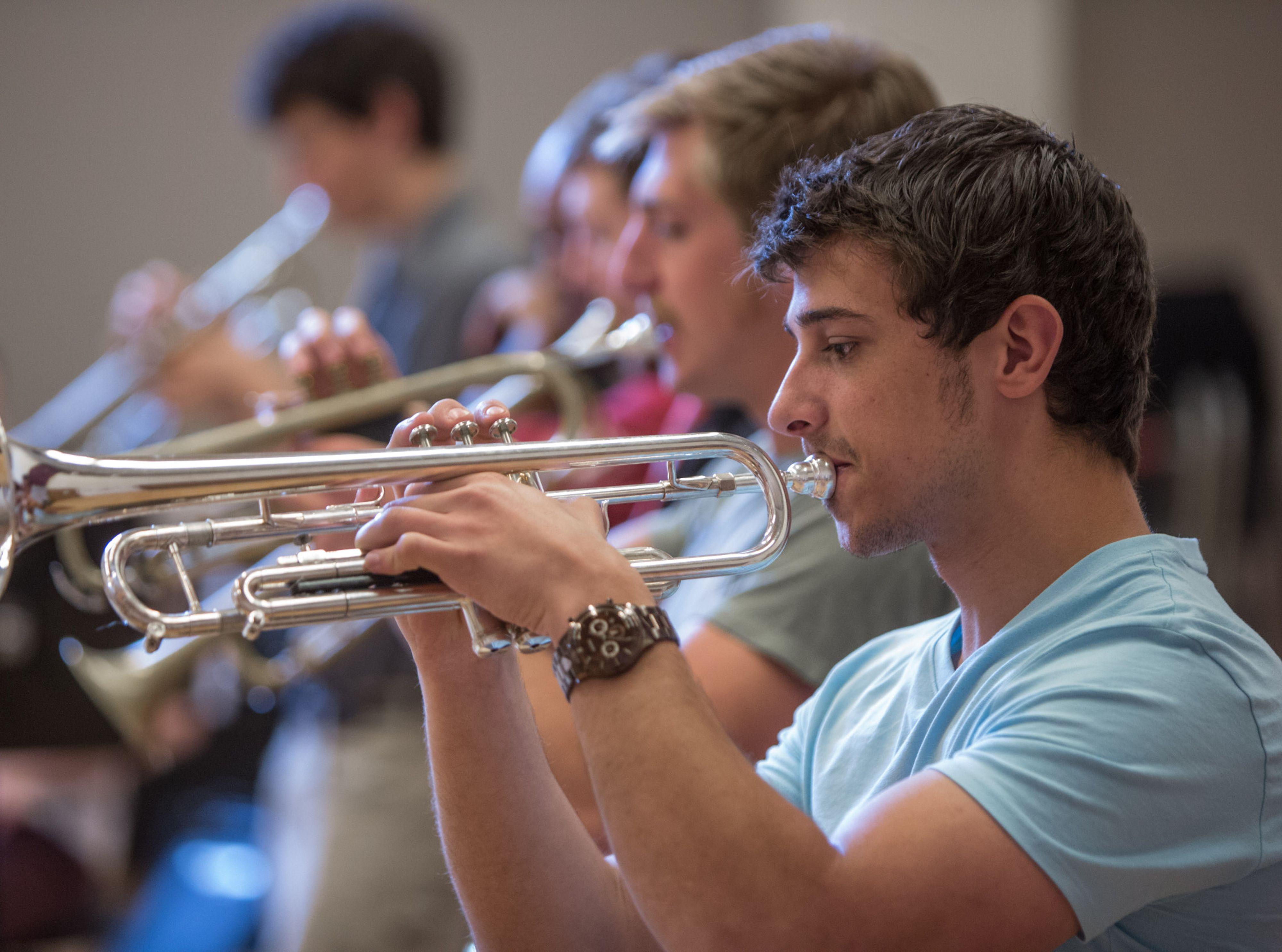 trumpet students