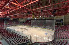 Empty Magness Arena