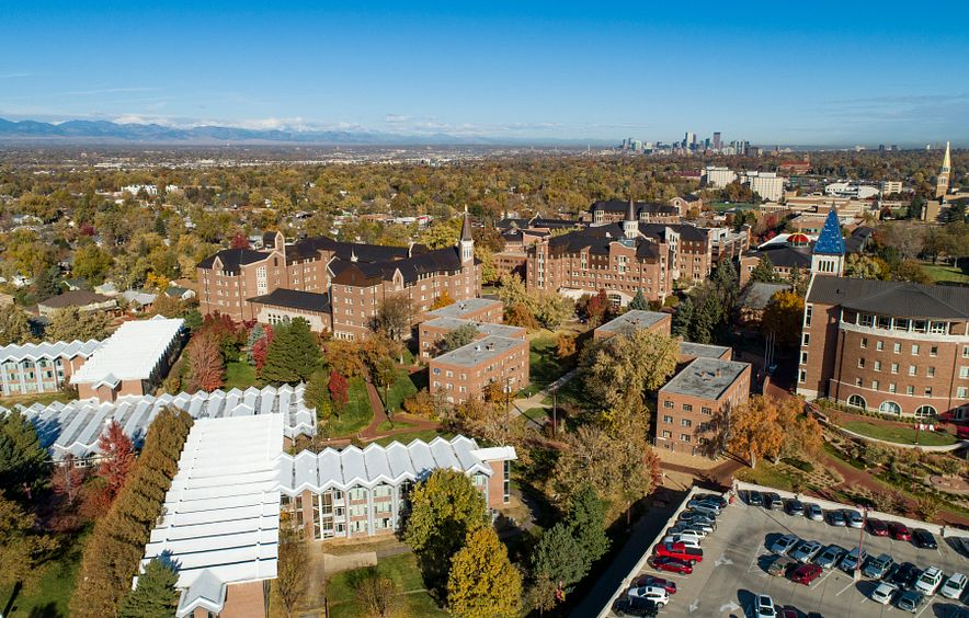 Nelson Hall from above