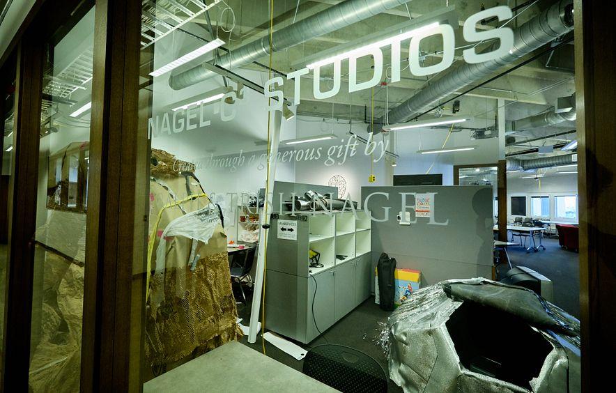 Window into Nagel studios