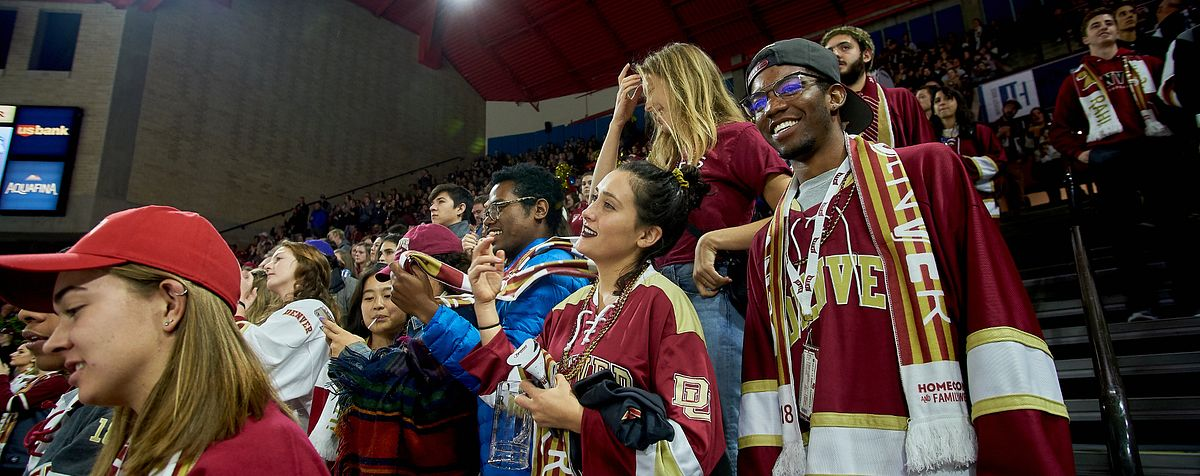 Fans at homecoming