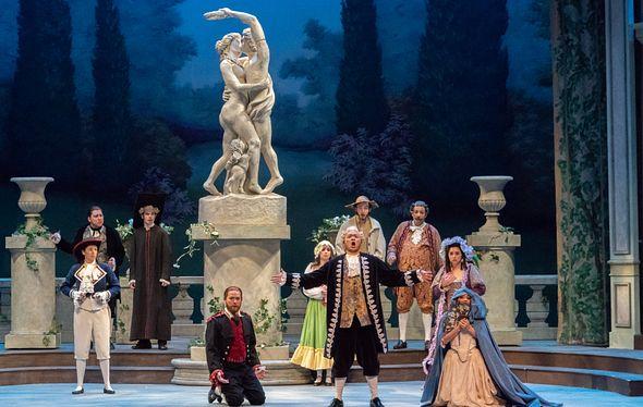 an opera performance