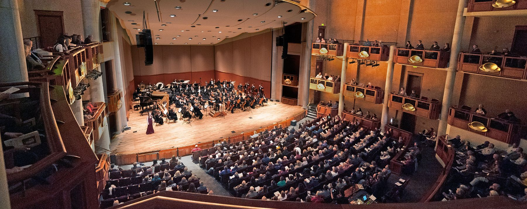 Lamont Symphony Orchestra performing in Gates Concert Hall