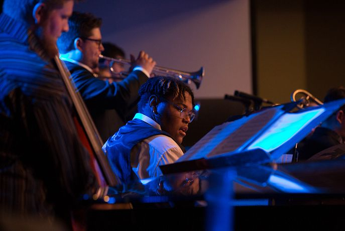 Lamont Jazz performs at the Next Generation Jazz Festival.