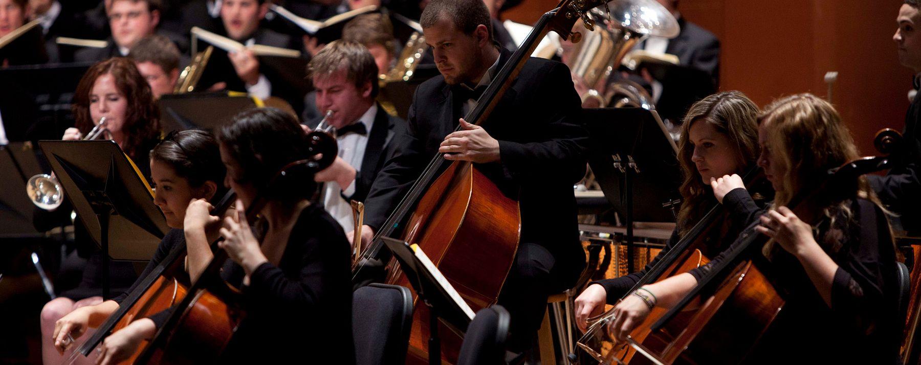 Lamont symphony in performance