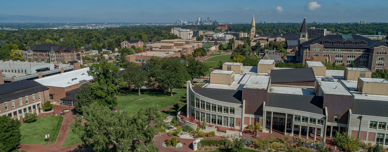 DU campus by SEED Center