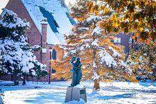 Snowy DU campus