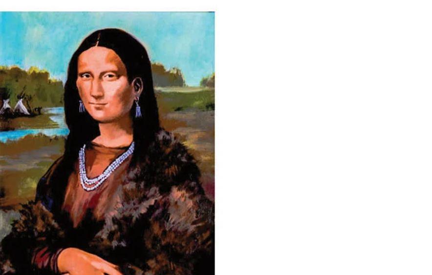Pretty Nose Arapaho (ode to Leonardo da Vinci)