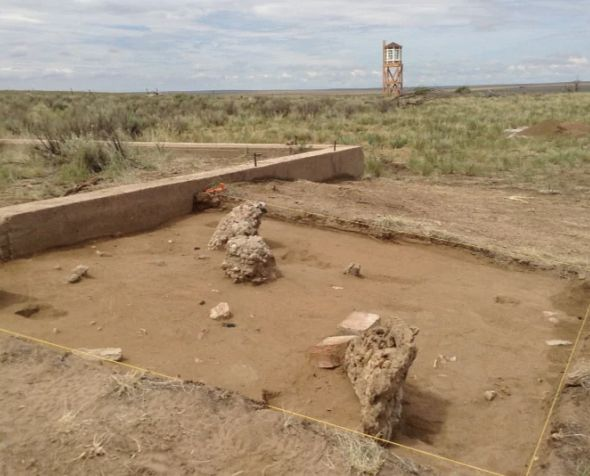 Photo of Amache Archaeology Site