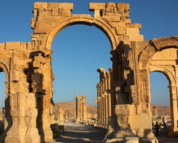 Arc of Triumph, Syria. From theguardian.com
