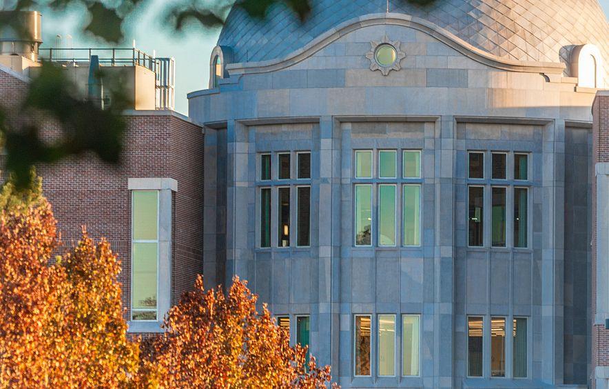 DU campus building