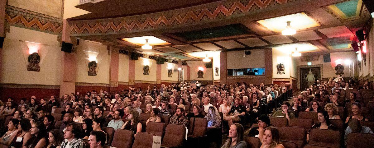 du film screening audience