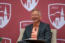 Jeremy Haefner laughing