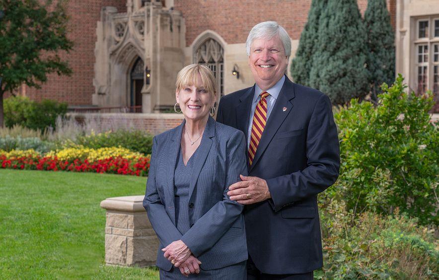 Mary and Doug