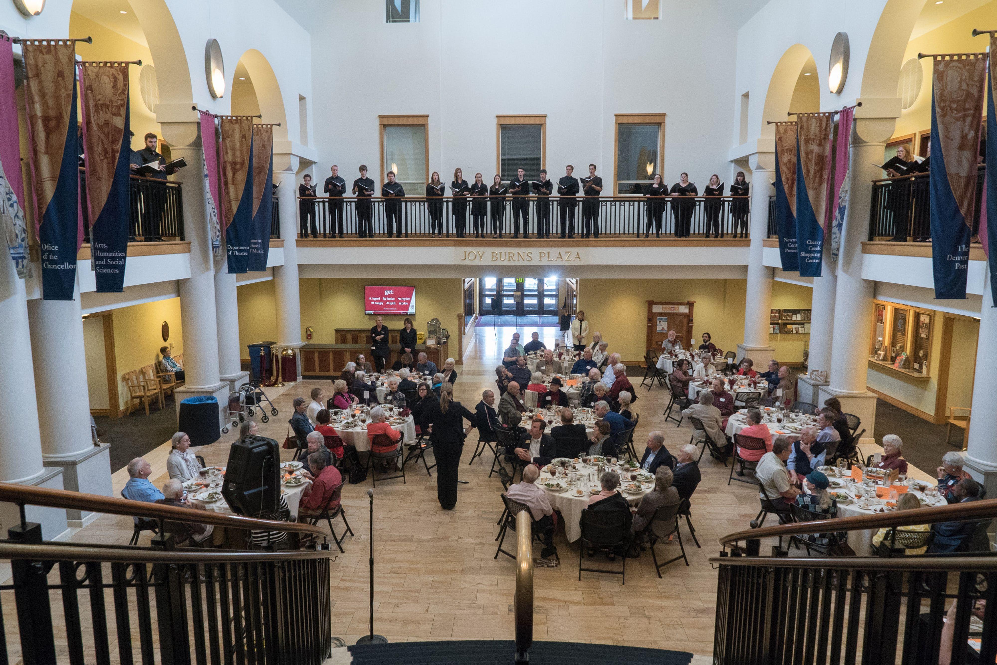 lamont alumni event