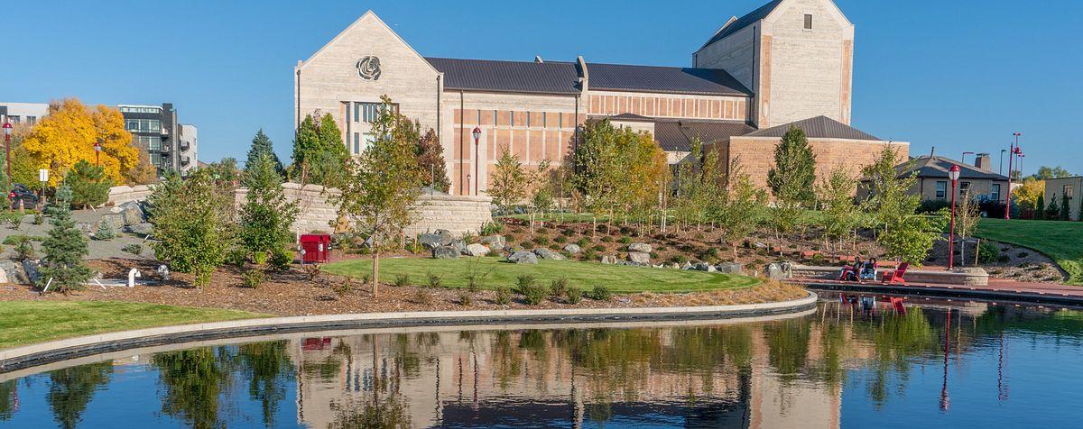 Newman center exterior