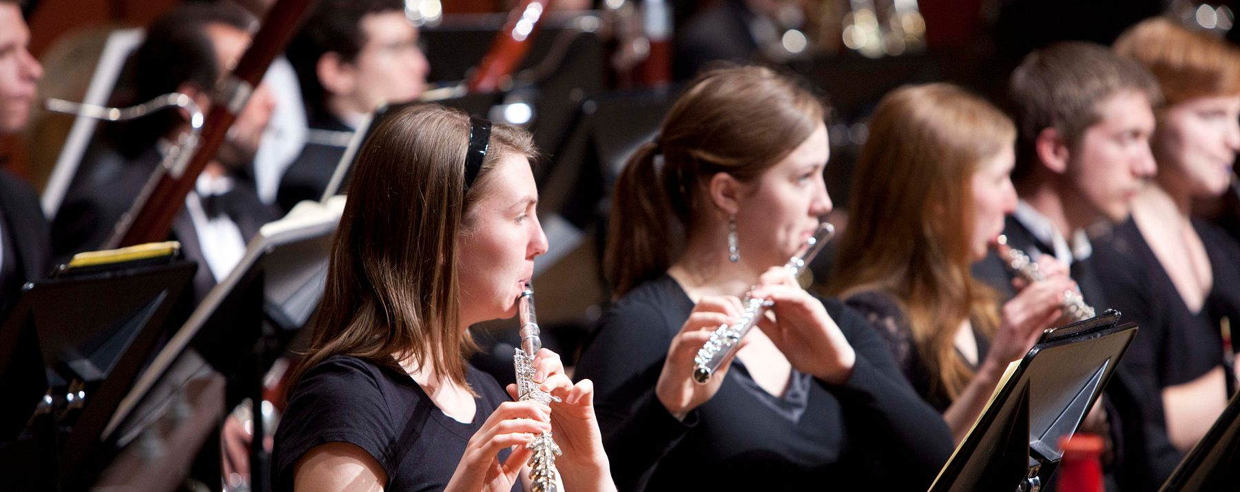 flute performance at Lamont